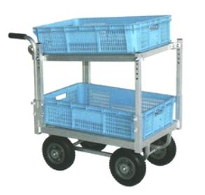 ハラックス 愛菜号 アルミ製 ハウスカー 2段積タイプ CHR-30-2 防J 個人宅配送不可 代引不可