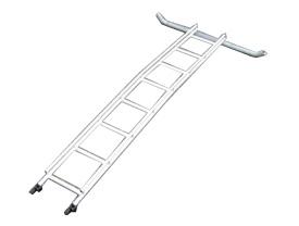 ビニールハウス専用はしご セレクトフィット用  延長はしご 2.4m ミツル ND