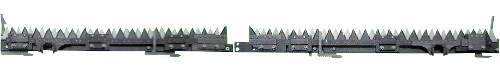 【納期一週間程度】 クボタ コンバイン刈刃 取付金具付き ER698 ER108 ER6120 清製H