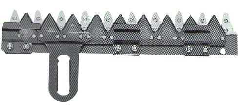 クボタ コンバイン刈刃 RE50 RE60 清製H