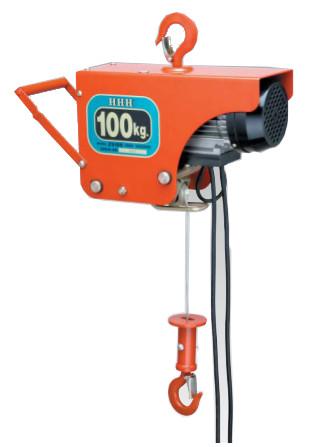 スリーエッチ 電動ホイスト ZS100 荷重 100kg HHH H