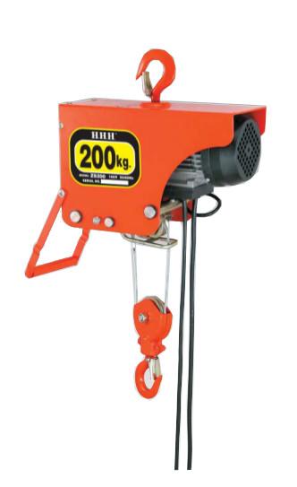 スリーエッチ 電動ホイスト ZS200 荷重 200kg HHH H