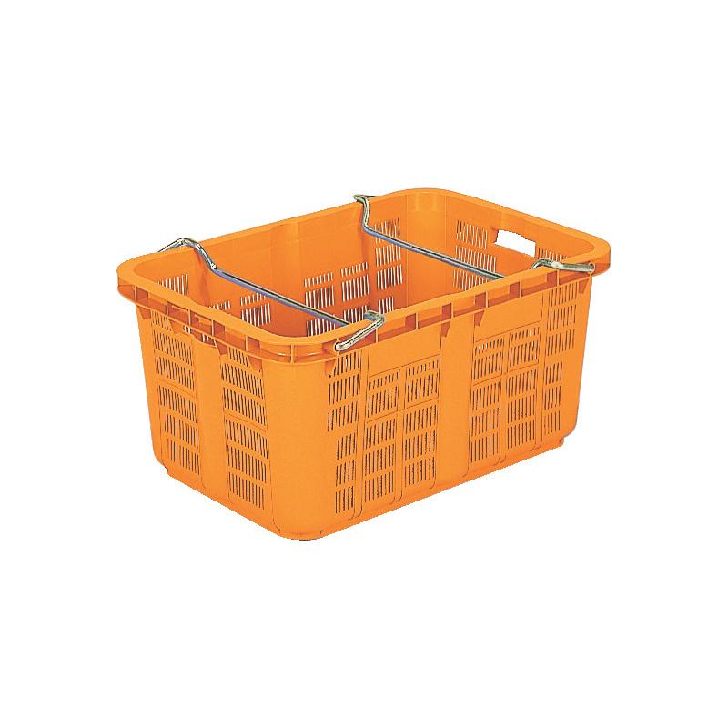 【激安】 個人宅配送 本州限定価格 15個 サンテナーA#120 PP ハンドル付 オレンジ 積み重ね可能 個人宅配送 15個 ハンドル付 三甲 サンコー カ施, コガネイシ:017f0fb8 --- adaclinik.com