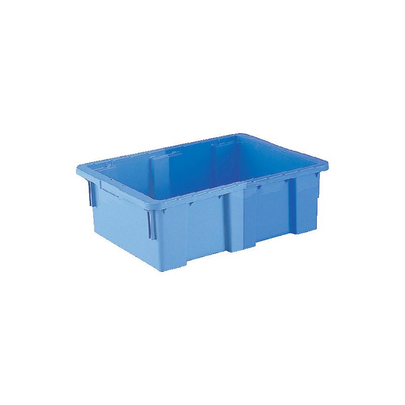 2色成形のSNコンテナー 個人宅配送不可 本州限定価格 30個 SNコンテナーB#45 ブルー/ライトブルー PP 三甲 サンコー カ施 代引不可