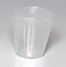 【1000個】 ポリポット 透明 15cm 明和 明W【代引不可】
