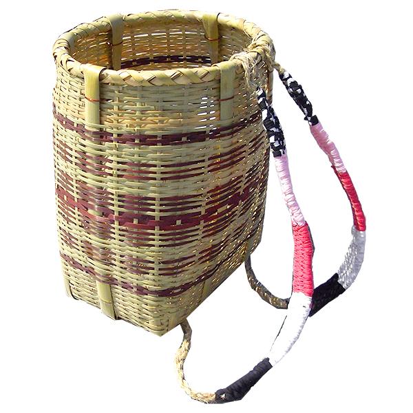 竹製 背負い籠