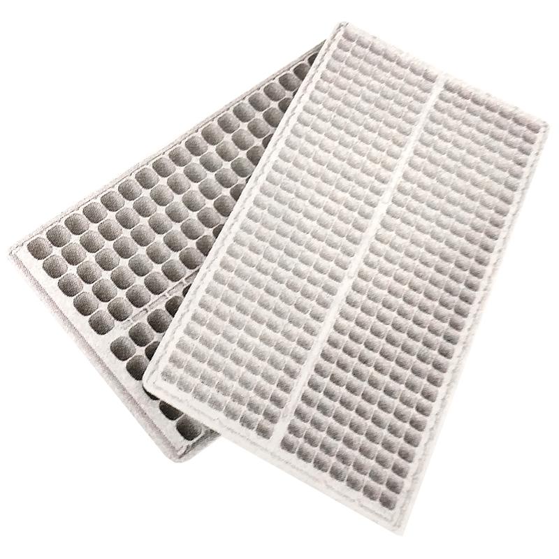 【100枚】 ランドマークトレイ 200穴 白 23角×高45mm 10×20列 プラグトレイ プラグトレー タ種【代引不可】