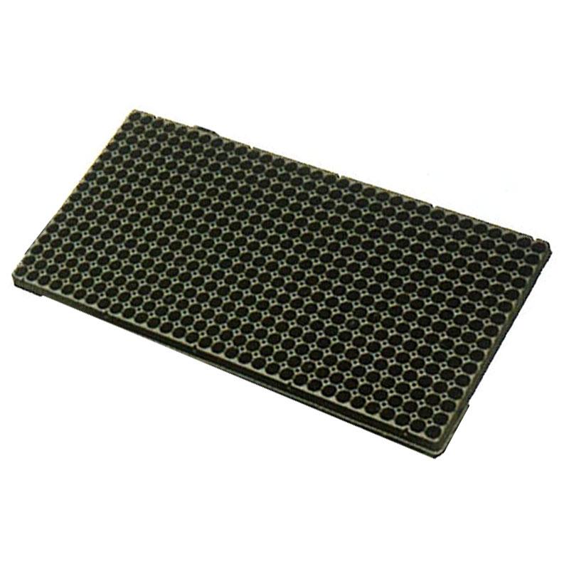 【100枚】 ランドマーク オクタトレイ 512穴 黒 16×32列 16(八角)×高25mm プラグトレイ プラグトレー タ種【代引不可】