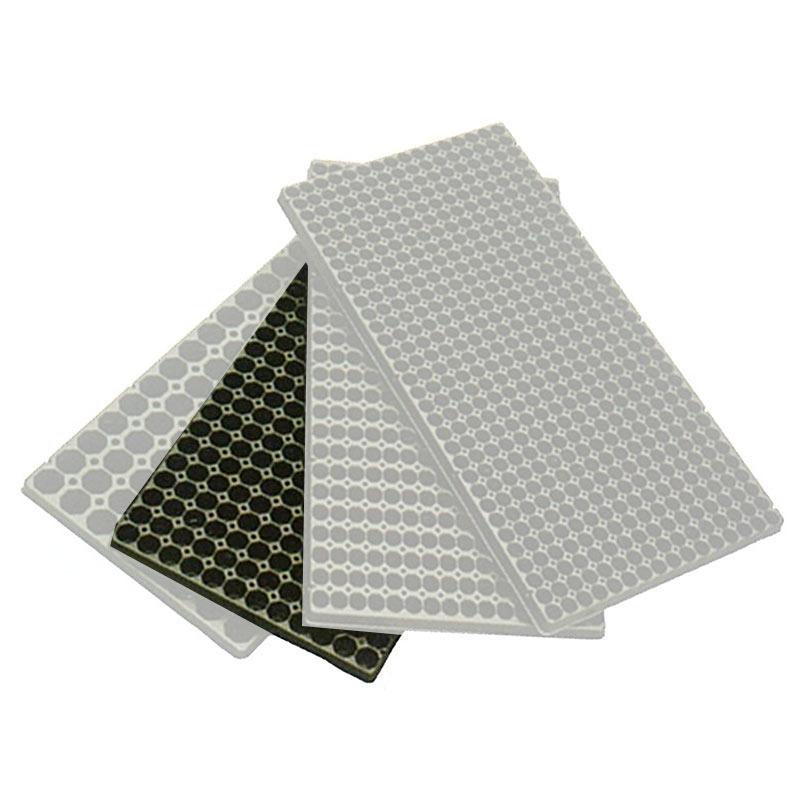 100枚 ランドマーク オクタトレイ 288穴 黒 12×24列 21(八角)×高25mm プラグトレイ プラグトレー タ種 代引不可