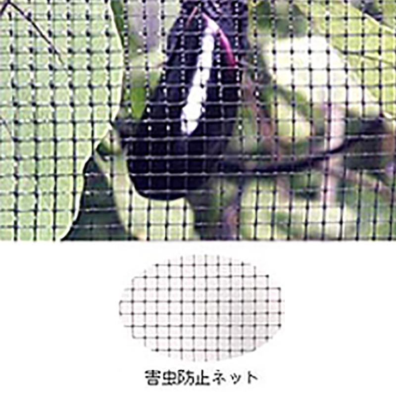 【4本】 害虫防止ネット 黒 OV3018 1m×100m 目合6×6mm 33g/m2 コンウェッドネット タ種【代引不可】