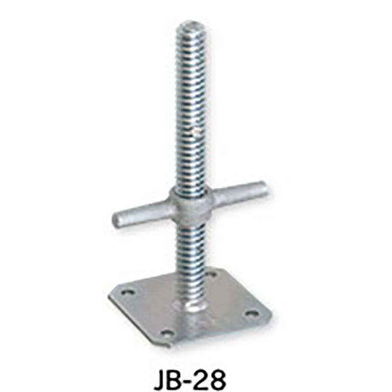 【6本】伊藤製作所 123 ジャッキベース 直径 34 mm用 JB-28 アMD