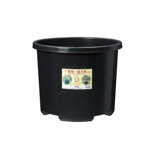 【個人宅配送不可】【10個入】 NPポット #60 ブラック 直径515×420Hmm 60L 果樹 庭木用 鉢 プランター DICプラスチック 日A【代引不可】
