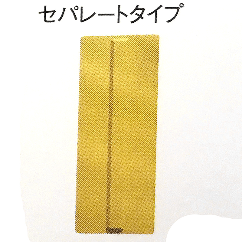 200枚セット 点字 パネル ラバー セパレートタイプ 黄 コT 代引不可