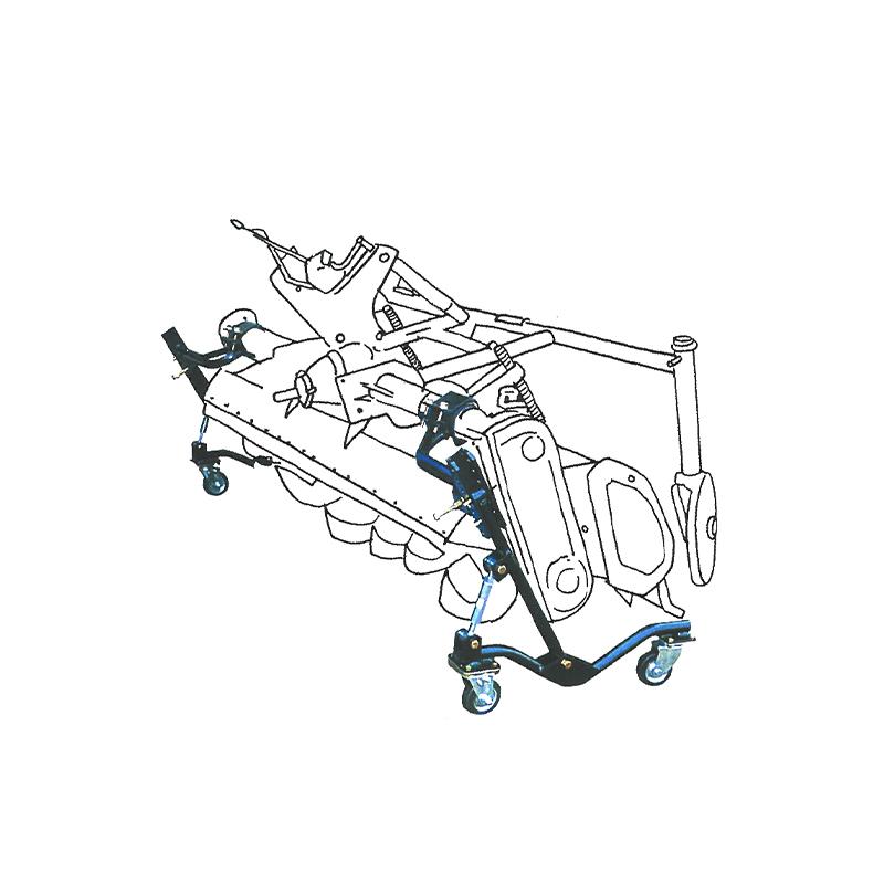 【個人宅配送不可】ロータリー スタンド ロータリー収納台車 RS-2 対応重量350kg イガラシ機械工業 オK【代引不可】