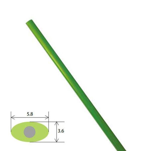 個人宅配送不可 タキロン フラット線 長さ:1.80m 100本入 フラット45 タ種 代引不可