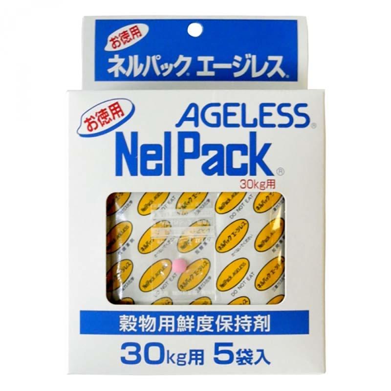 【100P】 ネルパック用 補充用 エージレス 30kg用 100袋入 ハオ【代引不可】
