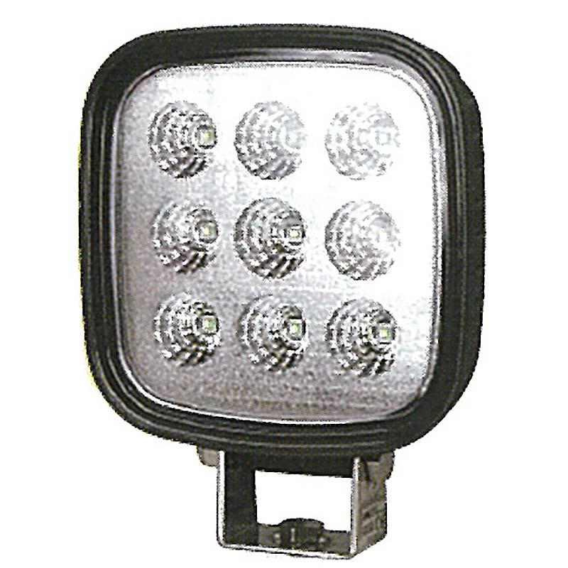 農業機械 建設機械 LEDライト KLED-6 2500lm 12V 24V 兼用 トラクター コンバイン トラック KBL オK【代引不可】