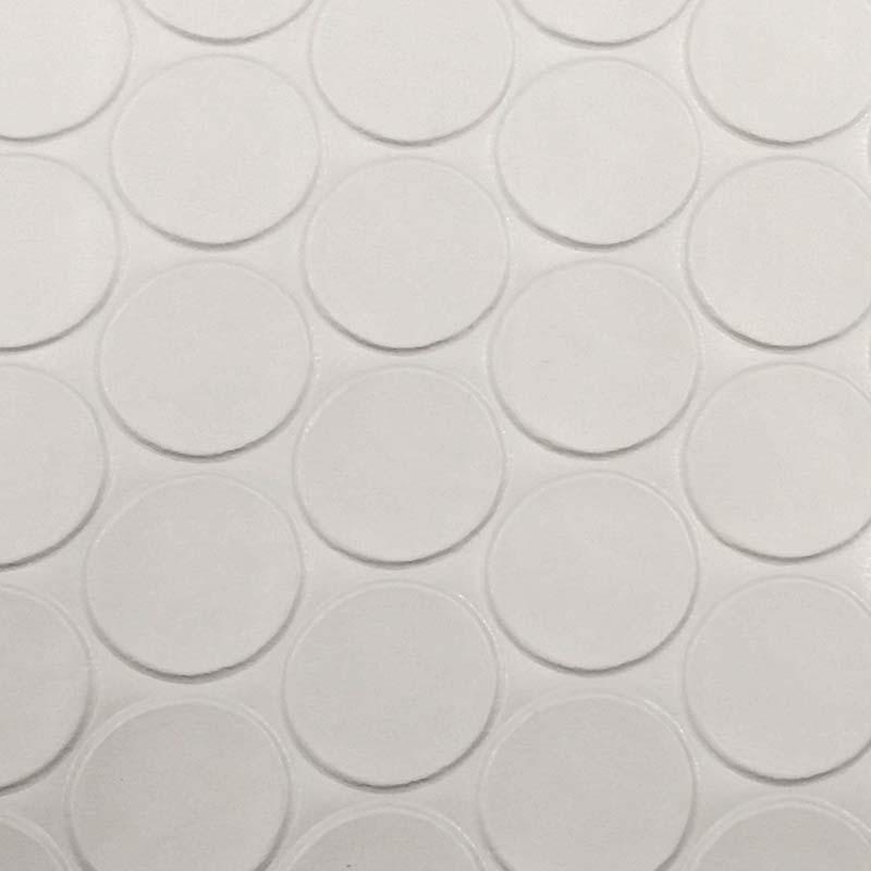 塩ビマット コインマット グレー 920mm × 20m ワニ印 日大工業 養生シート 日本製 難燃性 カS【代引不可】個人店入れ