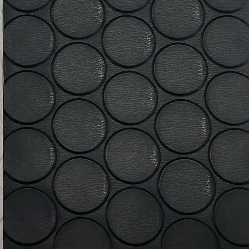 塩ビマット コインマット 黒 920mm×20m ワニ印 日大工業 養生シート 日本製 難燃性 カS【代引不可】個人店入れ