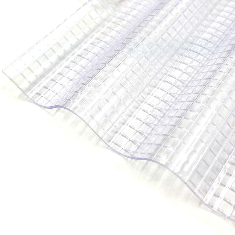 【10枚】 ガラスネット 波板 32波 7尺 鉄板 小板 クリア GS-263 大日本プラスチック ダイプラ アM【代引不可】