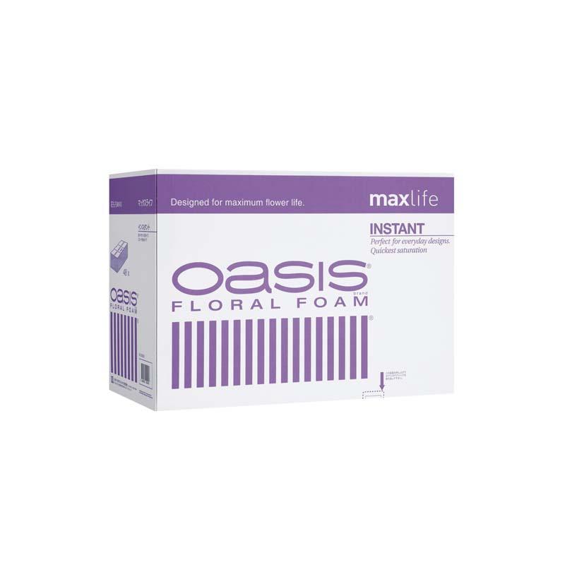 【2箱】 オアシス maxlife インスタント フローラルフォーム 48個入/箱 イP【代引不可】