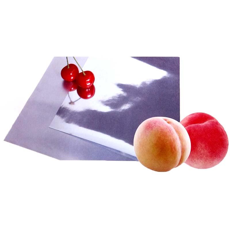 【2本】 ポリシャインハイデン 有穴 りんご、桃用 0.06mm厚×1.2m×100m 日立化成 カ施【代引不可】