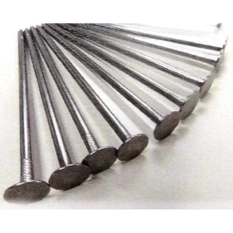 1200本 100本×12袋 大頭釘 20cm 防草シート押え用 固定釘 丸くぎ シN直送