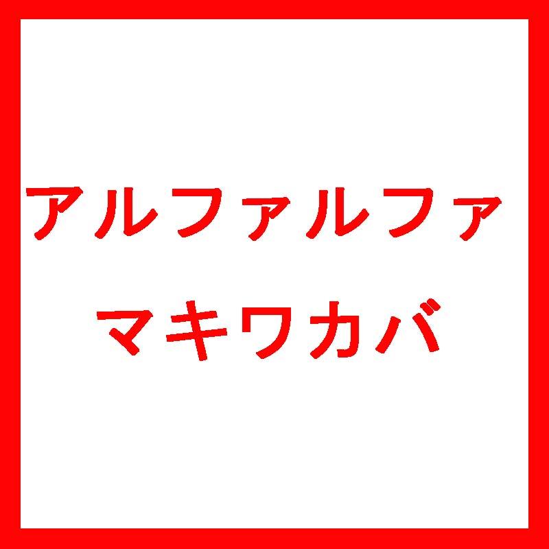 【種 3kg】【北海道限定】 アルファルファ マキワカバ コート種子 早生 畑地 酪農 牧草 緑肥 [播種期:4~8月] 雪印種苗 米S【代引不可】
