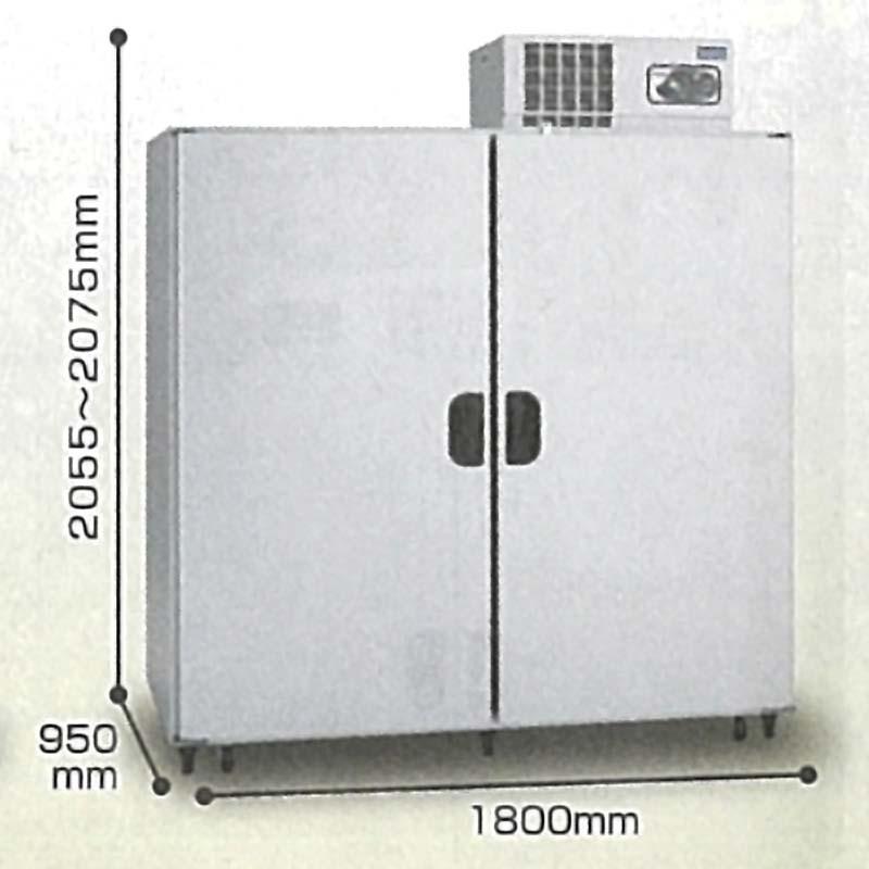 北海道配送不可 玄米保冷庫 アルインコ WFR-40A 送料・設置費込 玄米30kg/40袋用 野菜モード 低温貯蔵庫日・祝設置不可 アR 代引不可