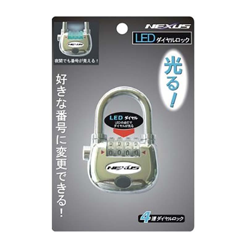 20個 LED ダイヤルロック錠 NLD-1 ネクサス 坂KH
