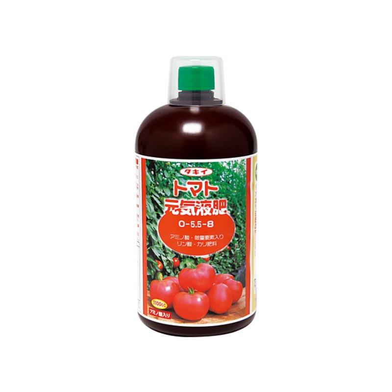 【12本】 トマト元気液肥 1100cc タキイ種苗 タ種 肥料 液肥 栽培 【代引不可】
