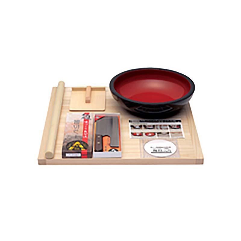 本格的麺打ちセット A-1200 豊稔企販 普及型麺打ちセット DVD付 そば うどん 高MNH