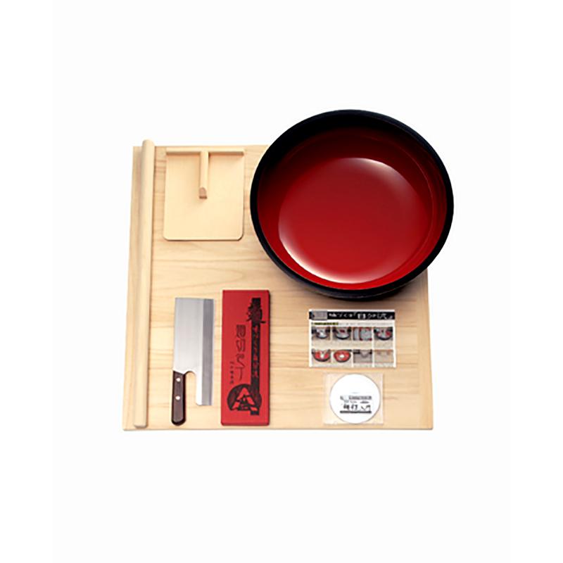 本格的麺打ちセット A-1260 豊稔企販 普及型麺打ちセット(大) DVD付 そば うどん 高MNH
