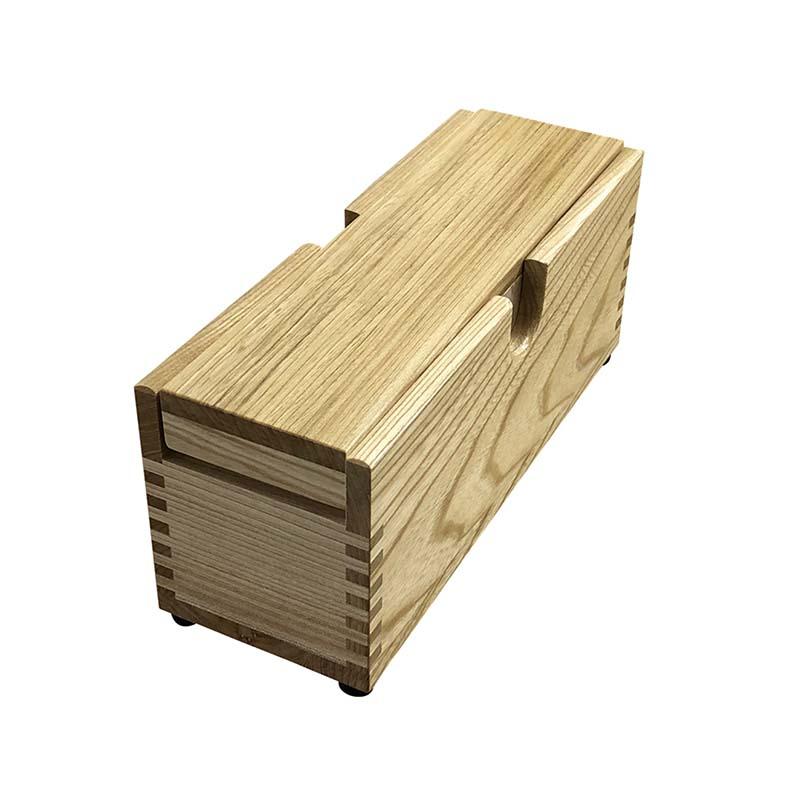 業務用鰹箱 中 青紙刃使用 鰹節 削り器 木製 日本製 かつ箱 かつお節削り 青紙鋼刃 1006 小柳産業 H