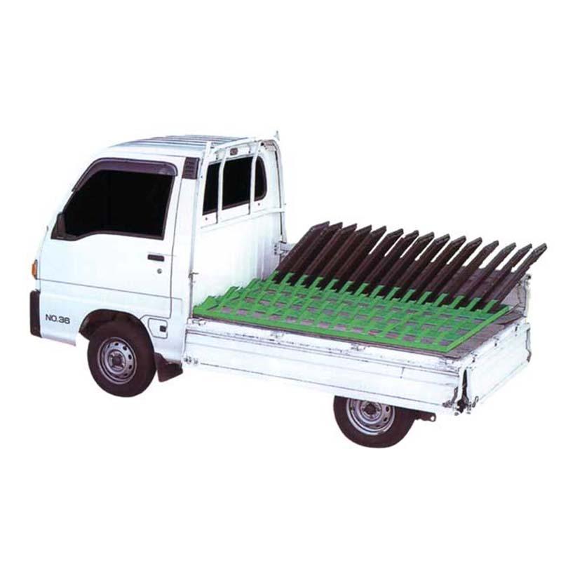 個人宅配送不可 ナエコン 苗コンテナ LN-15 平積型 15枚積 農作業 農業 苗箱運搬 ホクエツ オK 代引不可