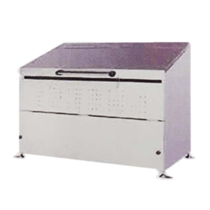 ステンレス ダストボックス DB800L 組立式 ゴミ収集庫 ごみ収集所 グリーンライフ アM 代引不可
