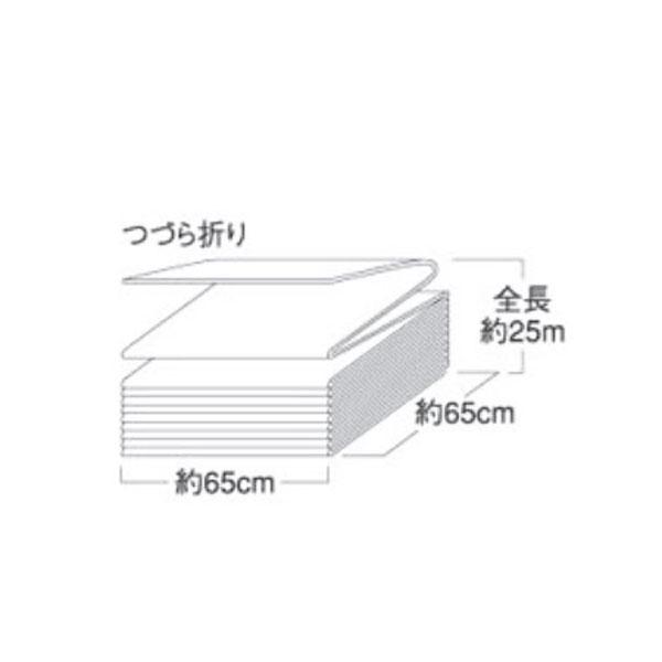 タフネル オイル ブロッター ジグザグ状 BL-Z 2本 巾65cm×長さ2.5m× 厚さ4mm 油 吸着 共B【代引不可】
