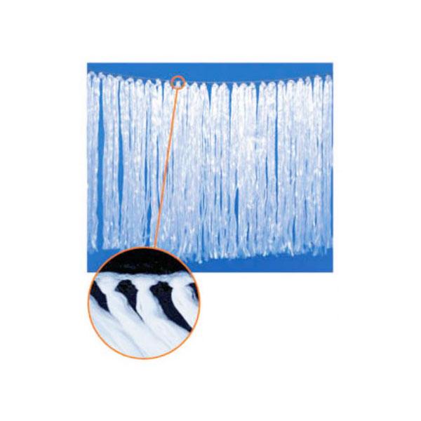 タフネル オイル ブロッター 吹流し状 F-1河川用 2本 繊維長1×長さ5m 油 吸着 共B【代引不可】