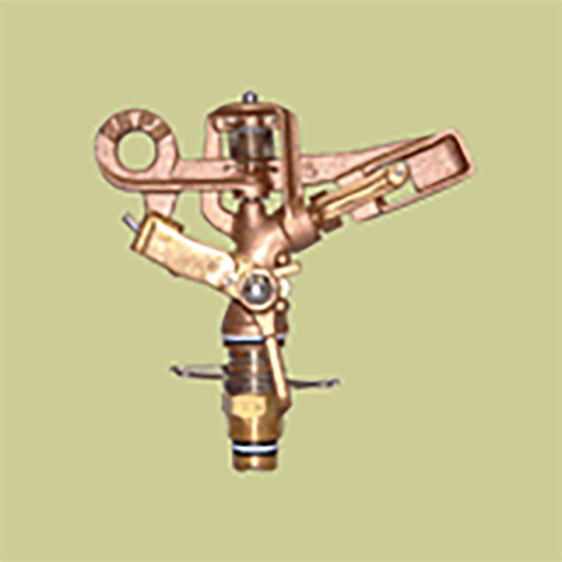 高耐久 金属 (農業用 緑化用) スプリンクラー 小型(S) 25-PK3 口径 4.8 mm 基本寸法 1/2PT 25度 共立イリゲート 防J【代引不可】