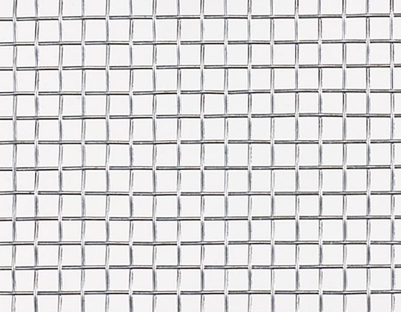 【北海道発送不可】 亜鉛引平織 金網 線径 #22(0.63mm) × 6.5 メッシュ 幅 910 mm × 長さ(巻き) 30 m 吉田隆【代引不可】