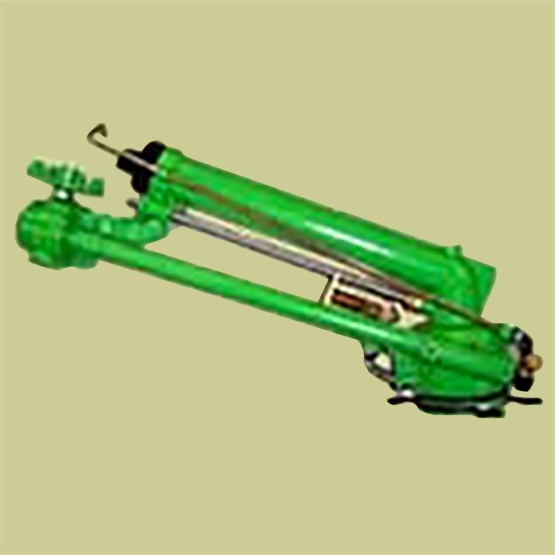 高耐久 金属 (農業用 緑化用 産業用) スプリンクラー 大型(L) レインガン NZ500S 口径 20 mm 基本寸法 1-1/2PT 25度 共立イリゲート 防J【代引不可】