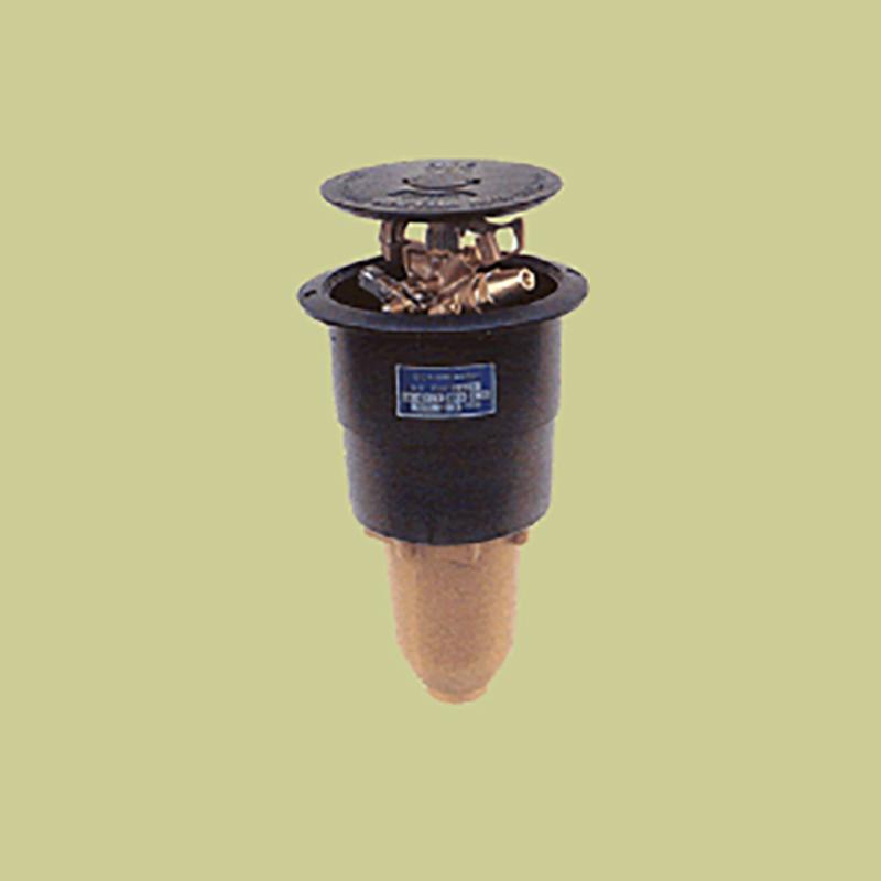 高耐久 金属 (緑化用 ゴルフ場等) ポップアップスプリンクラー PUP-121G 口径 7.9×4.4×2.4×2.4 mm 基本寸法 1-1/2PT 27度 共立イリゲート 防J【代引不可】