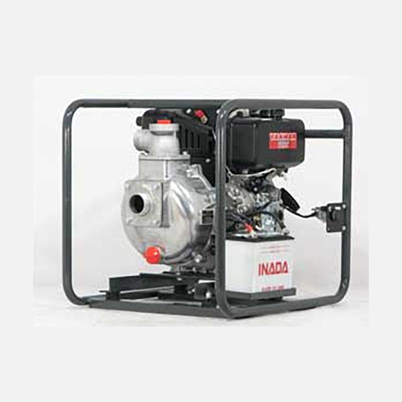 散水 高所 遠距離 給排水 2インチ高圧 ポンプ(空冷ディーゼルエンジン) QP-205SLD クボタ エンジン マツサカエンジニアリング 防J【代引不可】