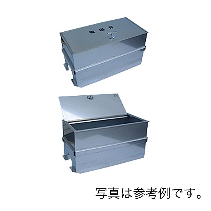 [個人宅不可] 高耐久 金属 [緑化用] バルブBOX 耐久性に優れたステンレス製BOX L 600 mm W 300 mm H 300 mm SUS6×3×3 共立イリゲート 防J[代引不可]