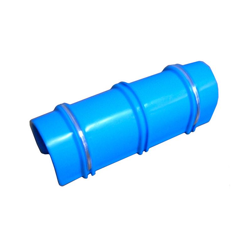 単管にフィルム ネット カーテン ブルーシー固定に 200個 (10個×20袋) パッカー 48.6mm用 農業資材 ミネ ミE H
