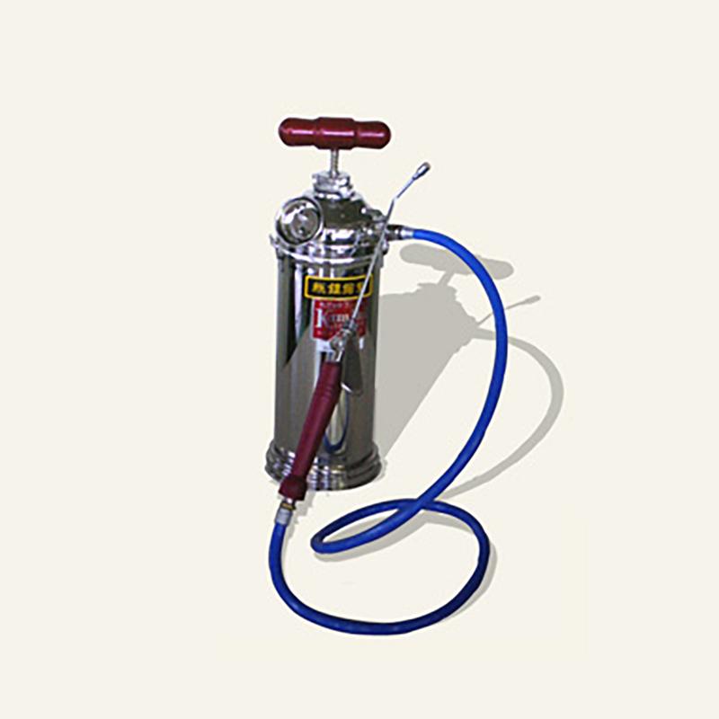 オール真ちゅう製 ホルモン剤専用噴霧機 (蓄圧式) ホルモンスプレー ワン皮式 HGS-1 使いやすい タンク容量 1.6L 重量 0.8kg 神木製作所 防J【代引不可】