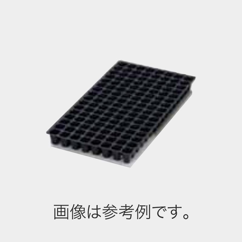 北海道配送不可 100枚 機械用 プラグトレー TKトレー 128穴 300×590 白黒 高さ44mm 園芸 プラスチックトレー 鉢 明和 明W 代引不可