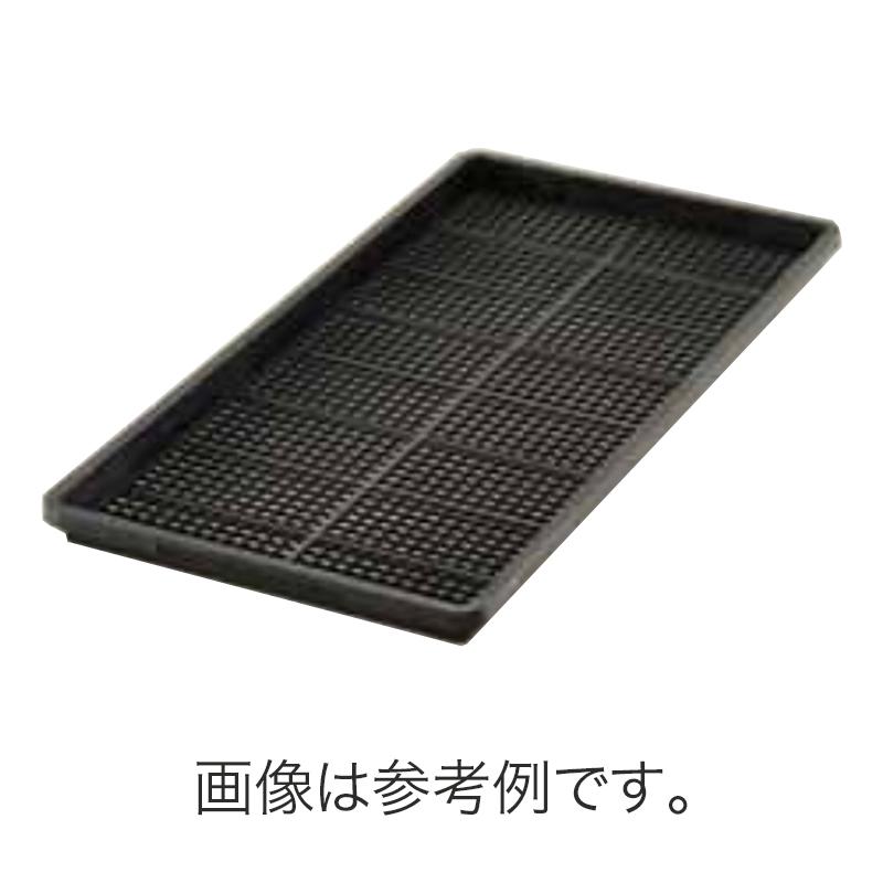 北海道配送不可 50枚 ムーブトレー 595×300 黒 高さ28mm 園芸 プラスチックトレー 鉢 明和 明W 代引不可