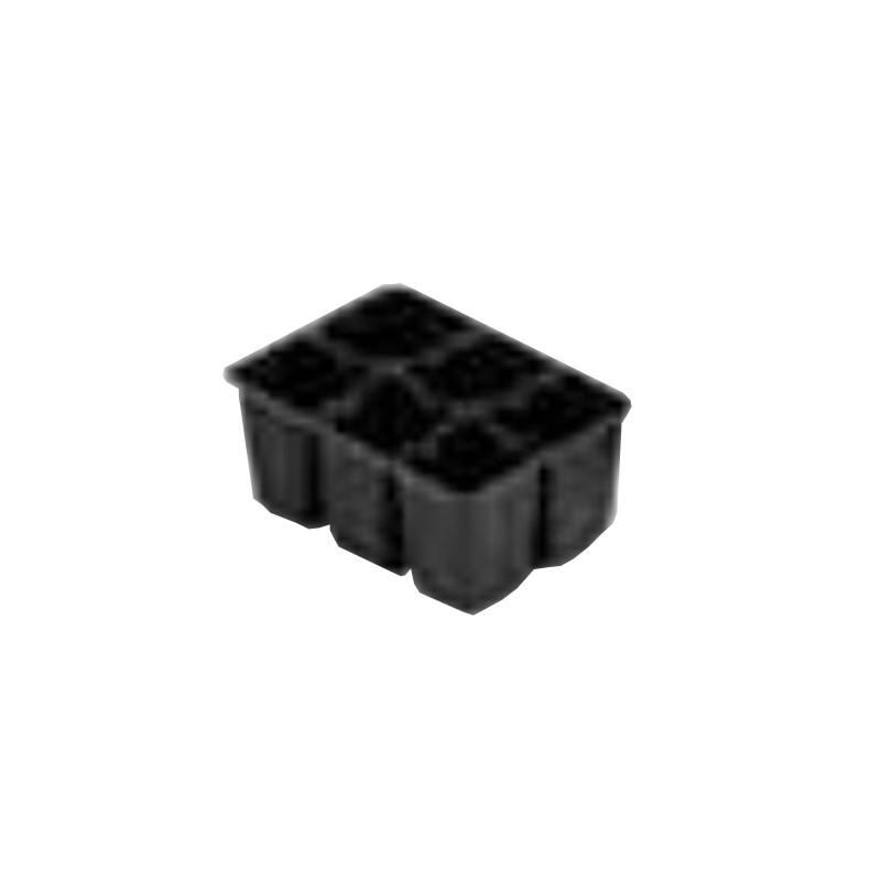 【北海道配送不可】【1200枚】 # 4502 苗パック 130×177 黒 高さ80mm 園芸 プラスチックトレー 鉢 明和 明W 【代引不可】