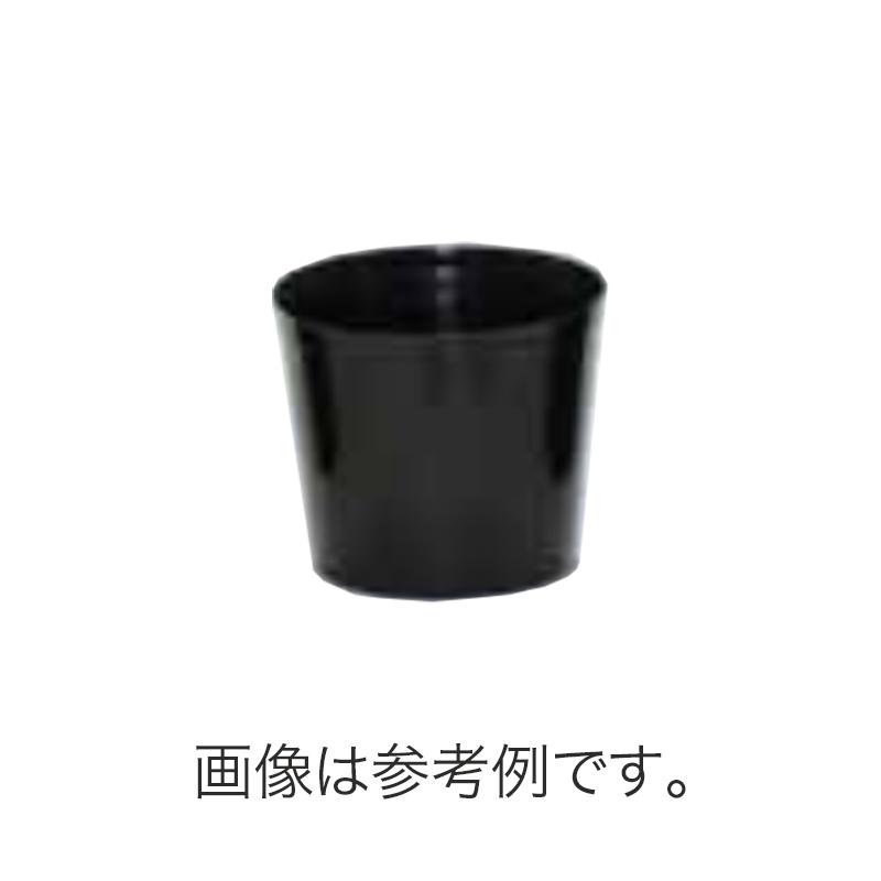 【北海道配送不可】【300枚】 #1308 内容器 6寸 黒 外径160mm 高さ135mm 園芸 プラスチックポット 鉢 明和 明W 【代引不可】